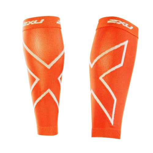 Nahtlose Compression Shorts (2XU Herren Compression Shorts Perform Kompressiononsstulpen, Orange, L)