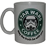 Taza Star Wars Coffee + chapa