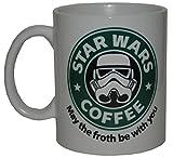Taza Star Wars Coffee + chapa