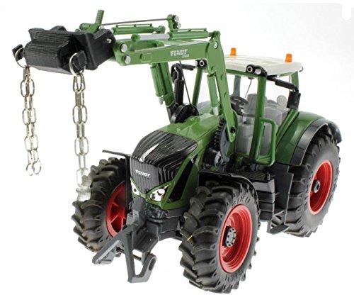 Kettenhalter für Siku Control 32 Traktoren mit Frontlader 6777 6778 (John Deere Container)