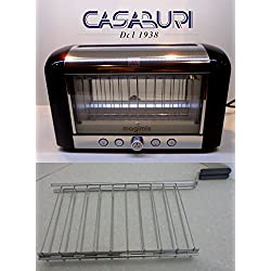Magimix Toaster Vision Black Included of 1Barbecue