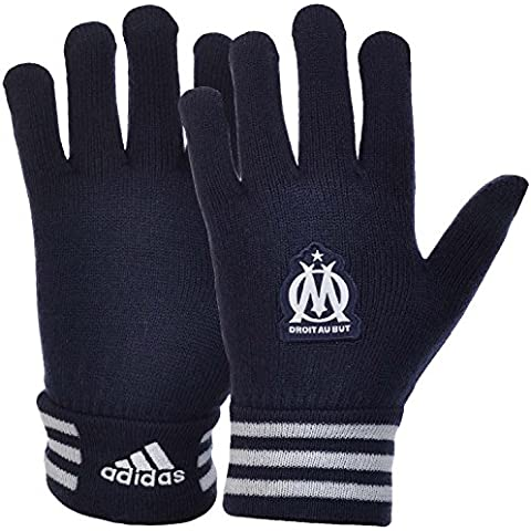 Adidas Performance - fútbol-guantes de punto - Olympique de Marsella de - azul oscuro Azul azul oscuro