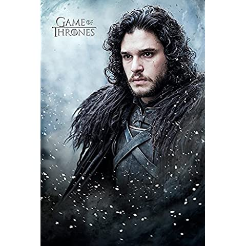 empireposter 739933 Game of Thrones – Jon Snow – Fantasy Film Movie Poster – dimensioni 61 x 91,5 cm, carta, multicolore, 91,5 x 61 x 0,14 cm