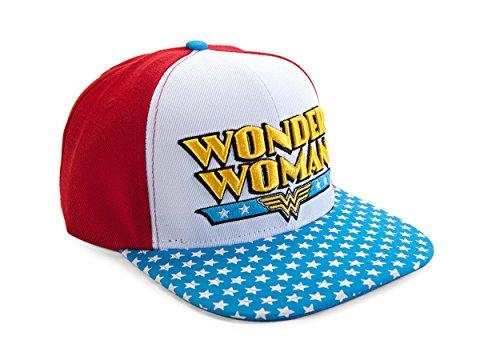 DC Comics Wonder Woman Logo Snapback Gorra De Béisbol