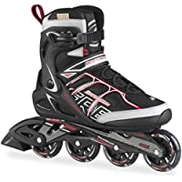 Rollerblade Sirio Comp - Patines en línea, color Negro, talla 275