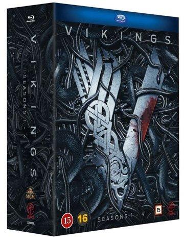 Vikings Series 1-4 15-Disc Box Set [ Blu-Ray, Reg.A/B/C Import - Sweden ]