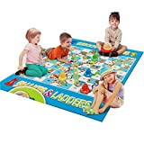 #9: Giant Snakes and Ladders Game For Kids