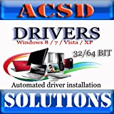 Windows XP / Vista / Win7 / Win8 Drivers Disk 32/64 Bit DVD [ALL VERSIONS, 2014 Latest]
