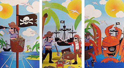 Pirat Notizbuch (Packung 12) (Begünstigt Partei Piraten)