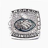 Philadelphia Eagles Football Super Bowl LII Welt Foles und Wentz Meisterschaft Replica Ring mit Holz Box-Style 12