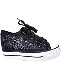 fashionfolie Sneaker Donna Blu Blu RjqhoqM