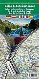 Freytag Berndt Reise & Autokartenset Deutschland - Österreich - Italien - Frankreich - Spanien Maßstab 1:500000-1:301000-1:600000-1:800000-1:700000 - Freytag-Berndt und Artaria KG