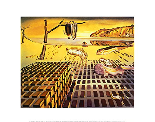 or Dali Poster Kunstdruck Bild The Disintegration of The Persistence of Memory, 1954 28x36cm ()