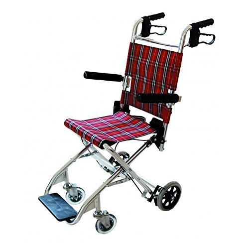 Silla de ruedas para transporte de pacientes