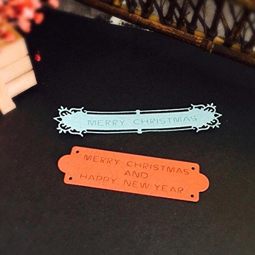 n Halloween Exquisite Papier Decor Formen Schablone Scrapbooking DIY Handarbeit, silberfarben, R ()