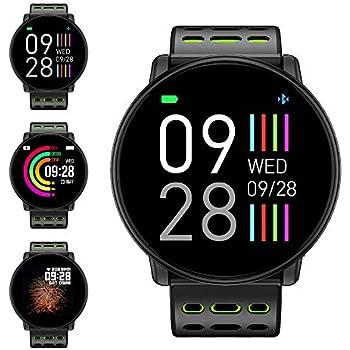 Reloj Inteligente, LIFEBEE Smartwatch Hombre Mujer Pulsera Actividad Inteligente Impermeable 1.3 Pulgadas Pantalla Color Pulsera Podómetro con ...