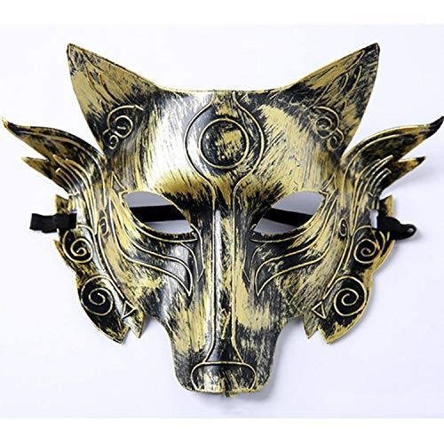 oration Werwolf Maske Horror Horror lustige Wolf Kopf Maske Halloween Lieferungen,A ()