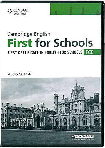 Practice Tests For Cambridge FCE CDs (Cambridge English for Schools)