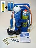 Autogenschweissgerät Schweißfix von CFH + 2x Sauerstoff+1x AT300