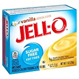Jell-O Sugar Freefat Free Instant Pudding And Pie Filling, Vanilla, 1Ounce Boxes (Pack Of 6)