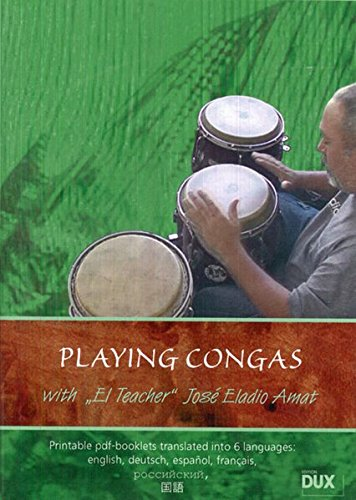 Playing Congas: Lehrmaterial, DVD (Video) für Congas