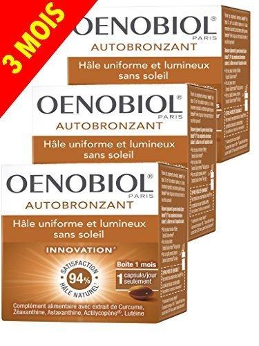Autoabbronzante 30 capsule oenobiol - 3 x 30 capsule