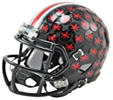 Ohio State Buckeyes Black Mini Helmet by Riddell