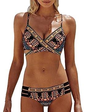 Traje De Baño Traje De Baño Casual Confort Bohemia Beachwear Naturazy Grande Bañador Traje De Baño Sexy Bikini...