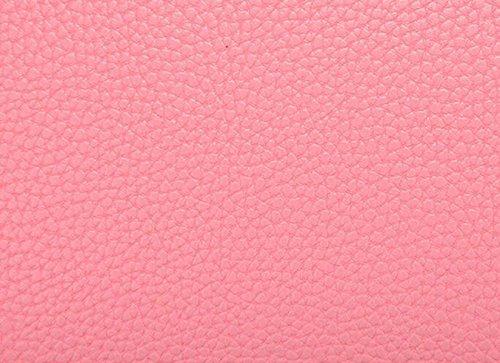 Pelle Signora PU Guscio In Pelle Goffrata Colore Sacchetto Di Caramelle Purple