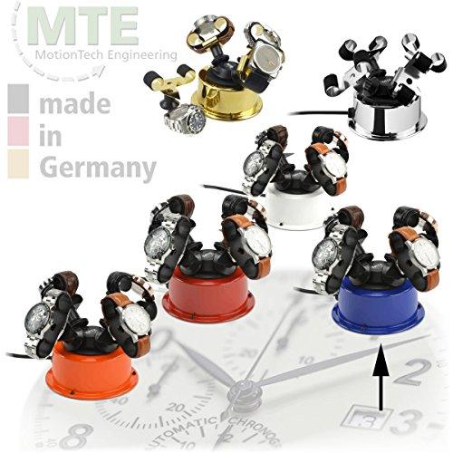 MTE Uhrenbeweger WTS 4 POP BLUE für bis zu 4 schwere Uhren - 2