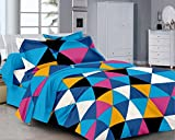 Classic FP Blue & Black Geometric Cotton...