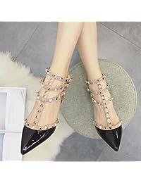 Los Tacones Altos Señalaron Los Zapatos de Las Mujeres de la Moda,Mi,39