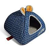 XWYGW Canile Pet Dog Nest Bed, Super Soft Pet Sofa Bed Gatti, Riscaldamento e Traspirante dell'animale Domestico, for Non Scivolare Giù for Animali Domestici da Spiaggia, Accessori for la facilità di