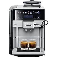 Siemens EQ.6 Plus s700 TE657503DE Kaffeevollautomat (1500 Watt, Keramik-mahlwerk, Touch-Sensor-Direktwahltasten, personalisierte Getränke, Doppeltassenbezug) edelstahl
