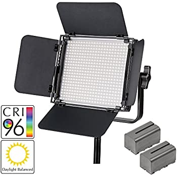 PIXAPRO® LECO500 II LED Balanced LED Panel (Improved Colour) Lighting Continuous Photo Constant Light *2 Year UK Warranty *Fast Delivery *UK Stock *VAT Registered