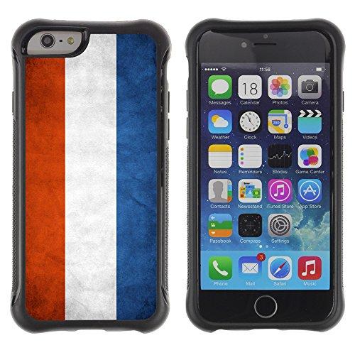 Graphic4You Vintage Uralt Flagge Von Griechenland Griechisch Design Harte Hülle Case Tasche Schutzhülle für Apple iPhone 6 Drapeau Hollandais Pays-Bas