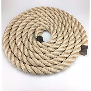 24mm Synthetic Sisal Decking Rope x 8 Metres, Garden & Boating, Sisal For Decking - RopeServices UK