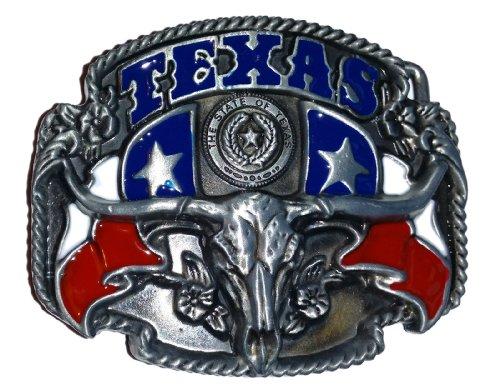 Boucle de ceinture Texas, USA, rebel, western