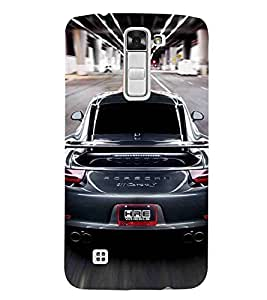 For LG K7 :: LG K7 Dual SIM :: LG K7 X210 X210DS MS330 :: LG Tribute 5 LS675 beautiful car, car, super car, nice car, speed car Designer Printed High Quality Smooth Matte Protective Mobile Case Back Pouch Cover by APEX