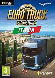 Euro Truck Simulator 2: Italia Add On (PC DVD) ( Steam Version ) [Edizione: Regno Unito]