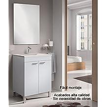 Mueble de Baño con espejo y lavabo incluido