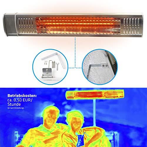 Estufa Lampara Exterior; Calefactor Eléctrico Radiante