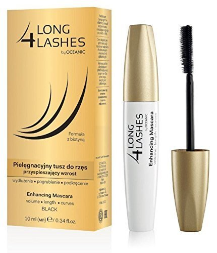 dde0ce10085 Long 4 Lashes Eyelash Growth Enhancing Black Mascara with Biotin 10ml