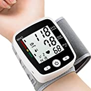 Blood Pressure Monitor, FDA Approved BP Monitor Irregular Heart Beat Detection Cuff Automatic with Large Displ