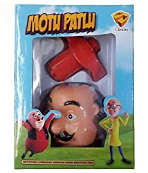 Motu Laser Spinning Top, Lights and Music - Motu and Patlu Toy