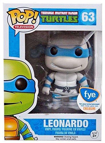 Teenage Mutant Ninja Turtles Figura Vinilo Leonardo Gris 63 Figura de coleccin
