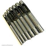 AERZETIX: Jeu de 7 emporte-pièces 3mm 4mm 5mm 6mm 7mm 8mm 9mm