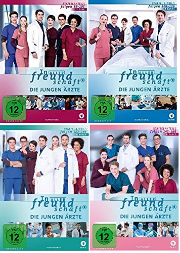 Staffel 3+4 (28 DVDs)