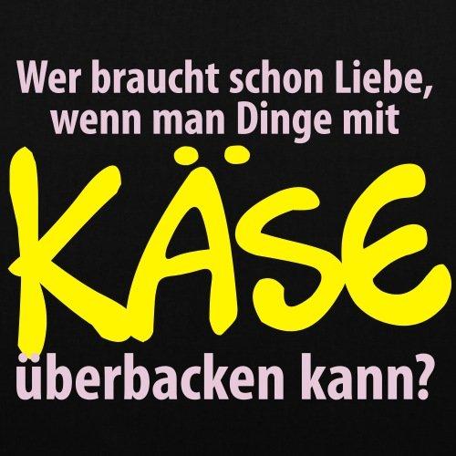 Spreadshirt Wer Braucht Schon Liebe Witziger Spruch Stoffbeutel Schwarz