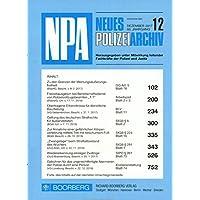 NPA - Neues Polizeiarchiv [Jahresabo]